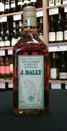 J Bally Rhum Ambre Agricole Martinique - Buy Spirits Online