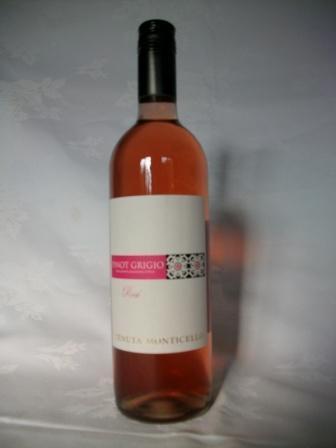 Pinot Grigio Rose Italian Wine.  Buy Wine Online